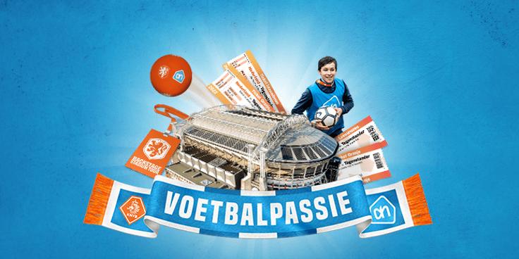 Voetbalpassiepunten bij Albert Heijn